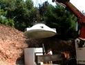 Versetzten des Beton-Behälter - Klicken Sie hier für Vollansicht