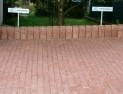 Kundenparkplätze mit Versickerungspflaster