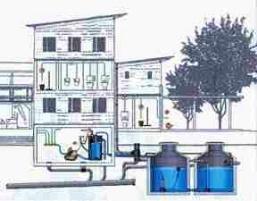 Hybrid-Anlage - Beispiel einer Anlage für Schule, Hotel oder Gewerbebetrieb